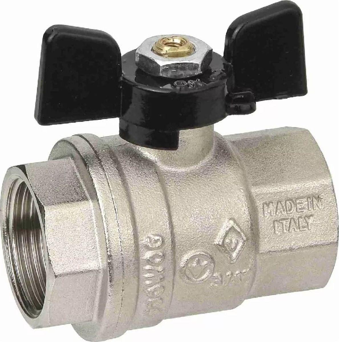Кран шаровый Bugatty New Jersey 900, 3/4 в/в бант. 9120005 оборудование для систем отопления и водоснабжения продаю новосибирск