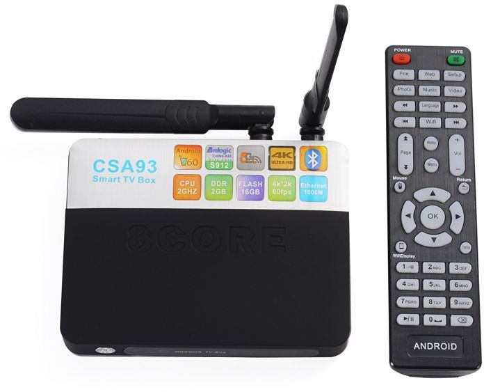Invin CSA93, Black медиаплеер4631139715105Подключив Андроид-приставку Смарт ТВ Invin CSA93 к своему телевизору, вы получите полноценный планшетный компьютер. С её помощью можно заходить в интернет, используя вместо монитора телевизор, работать с текстовыми и графическими документами, смотреть видео и играть игры онлайн, общаться в соцсетях, использовать абсолютно все приложения, разработанные для устройств с ОС Android и так далее. На приставке смарт ТВ Invin CSA93 заведомо установлены интернет-браузер и приложения, позволяющие вам активно проводить время в сети, просматривать видео и телеканалы онлайн.