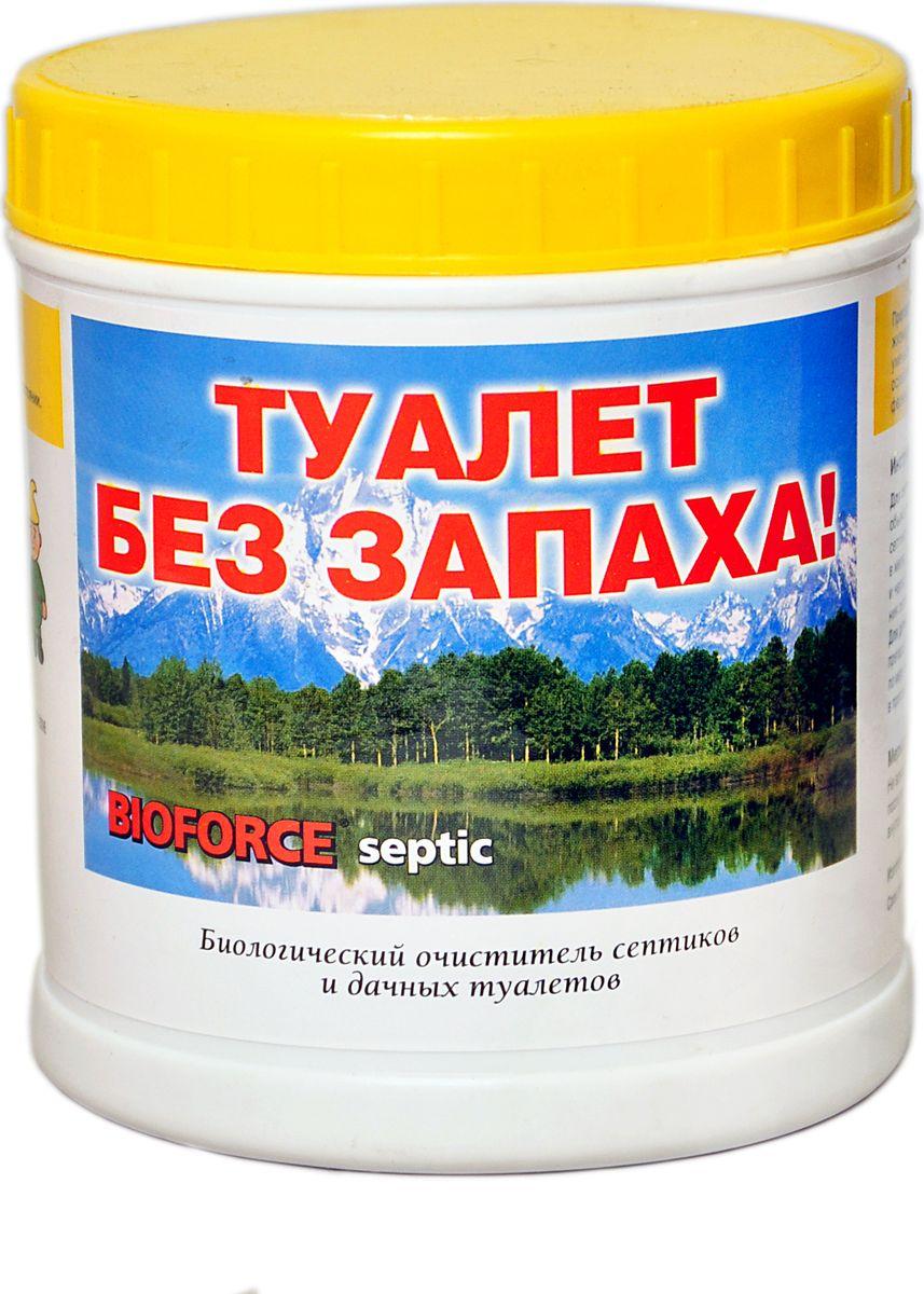 Средство для септиков и биотуалетов Bioforce Septic, 250 гBB-017Биологический очиститель септиков и дачных туалетов Bioforce Septic (250г.)Биопрепарат предназначен для обслуживания септиков ивыгребных ям. Обезвреживает и утилизирует отходы жизнедеятельности человека, расщепляет органические отходы. Уменьшает объем осадка всистеме баков септиков и дачных туалетах, ослабляет распространение запахов. Подходит для аэробных и анаэробных типов септиков.Предотвращает засорение дренажных каналов и закупоривание канализационных коммуникаций. Восстанавливает культуру полезных бактерий всистеме септиков.Применение:Для септиков: Bioforce Septic можно вносить как непосредственно в очистное сооружение, так и черезунитаз или раковину дома.Ежемесячно вносите 100г средства на каждый 1 м3 емкости первой камеры септика. Для первичного запускаочистного сооружения необходимо четырехкратное увеличение дозировки.При большем объеме септика расход увеличиваетсяпропорционально его объема.Для дачных туалетов: с объемом отходов 1 - 2 м3 первоначально необходимо внести 200 г. биопрепарата идалее вносить 50-100г.каждый месяц или по мере необходимости. Перед внесением препарата разведите его теплой водой. Условиемнормальной работы препарата является повышенная влажность, поэтому добавьте воды в дачный туалет при необходимостиСостав:концентрированная смесь полезных природных бактерий, питательных веществ, аминокислот, минералов, ферментов.