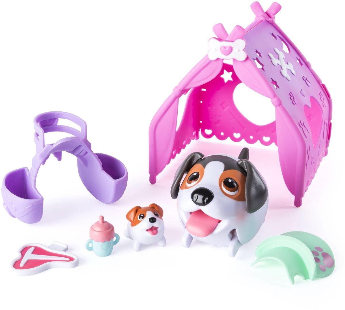 Chubby Puppies Игровой набор Туристическая палатка play doh игровой набор магазинчик домашних питомцев