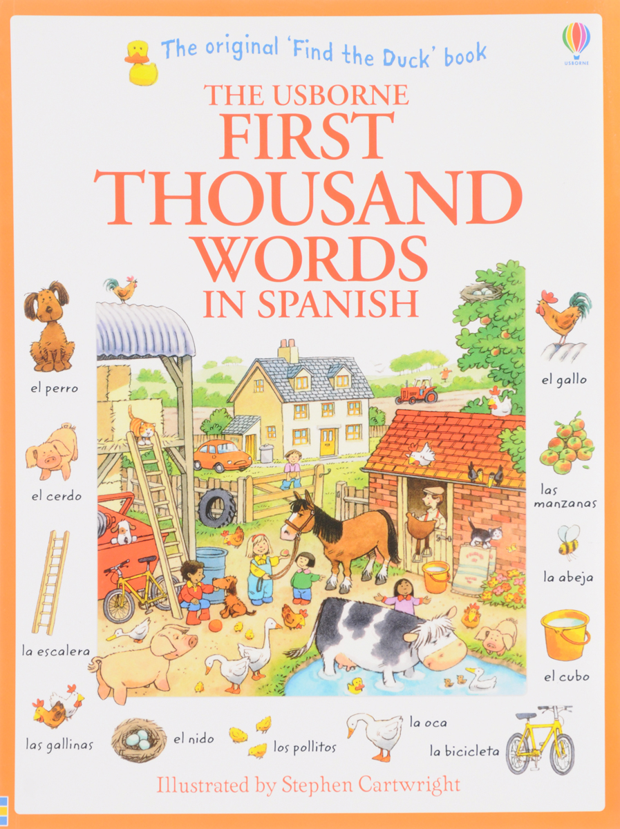 First Thousand Words in Spanish first sticker book easy spanish words