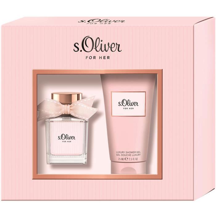 S.oliver For Her Ж Набор Туалетная вода, 30 мл + гель для душа, 75 мл4011700878123В набор входит аромат For Her и гель для душа.