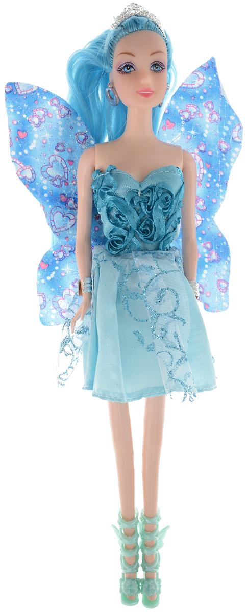 Veld-Co Кукла Фея цвет платья голубой 47868 vassa co платья