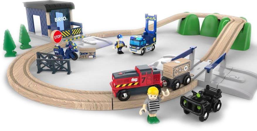 Brio Железная дорога Полиция - Железные дороги