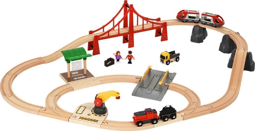 Brio Железная дорога В городе - Железные дороги