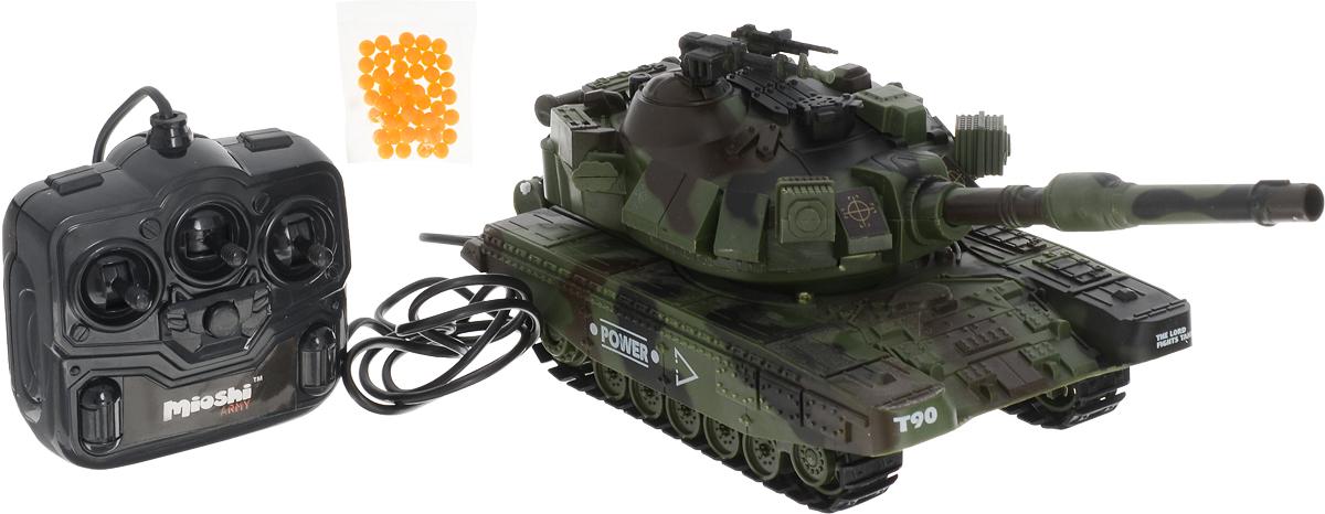 Mioshi Танк на радиоуправлении Army МТ-90 цвет зеленый цены