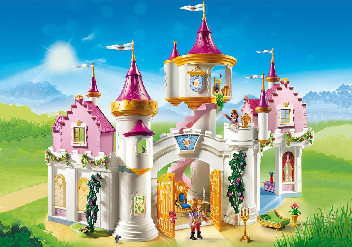Мультяшные замки и дворцы картинки этого