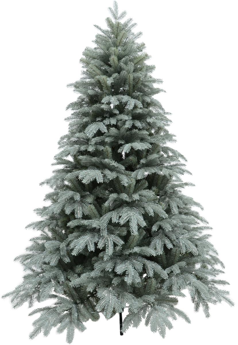Ель искусственная, цвет: зелено-серый, высота 180 см. HJT26-180HJT26-180Искусственная ель - прекрасный вариант для оформления вашего интерьера к Новому году. Такие деревья абсолютно безопасны, удобны в сборке и не занимают много места при хранении. Ель состоит из верхушки, ствола и устойчивой подставки. Ель быстро и легко устанавливается и имеет естественный и абсолютно натуральный вид, отличающийся от своих прототипов разве что совершенством форм и мягкостью иголок.Еловые иголочки не осыпаются, не мнутся и не выцветают со временем. Полимерные материалы, из которых они изготовлены, нетоксичны и не поддаются горению.Ель обязательно создаст настроение волшебства и уюта, а также станет прекрасным украшением дома на период новогодних праздников.Размер подставки: 51 х 51 см.