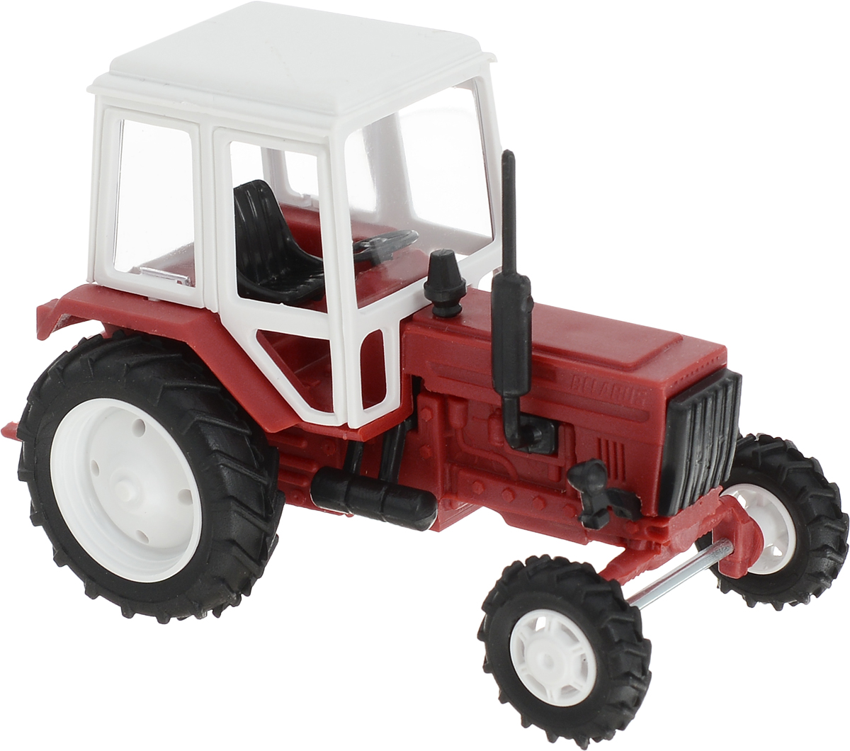 Мир отечественных моделей Трактор МТЗ-82 цвет красный мир отечественных моделей трактор мтз 82 с прицепом