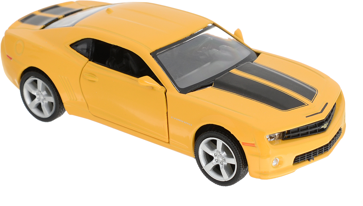 Autotime Модель автомобиля Chevrolet Camaro цвет желтый autotime collection 11446 уаз 31514 вдв