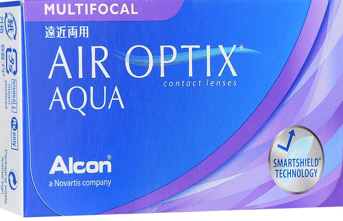 Alcon-CIBA Vision контактные линзы Air Optix Aqua Multifocal (3шт / 8.6 / 14.2 / -4.00 / Low)