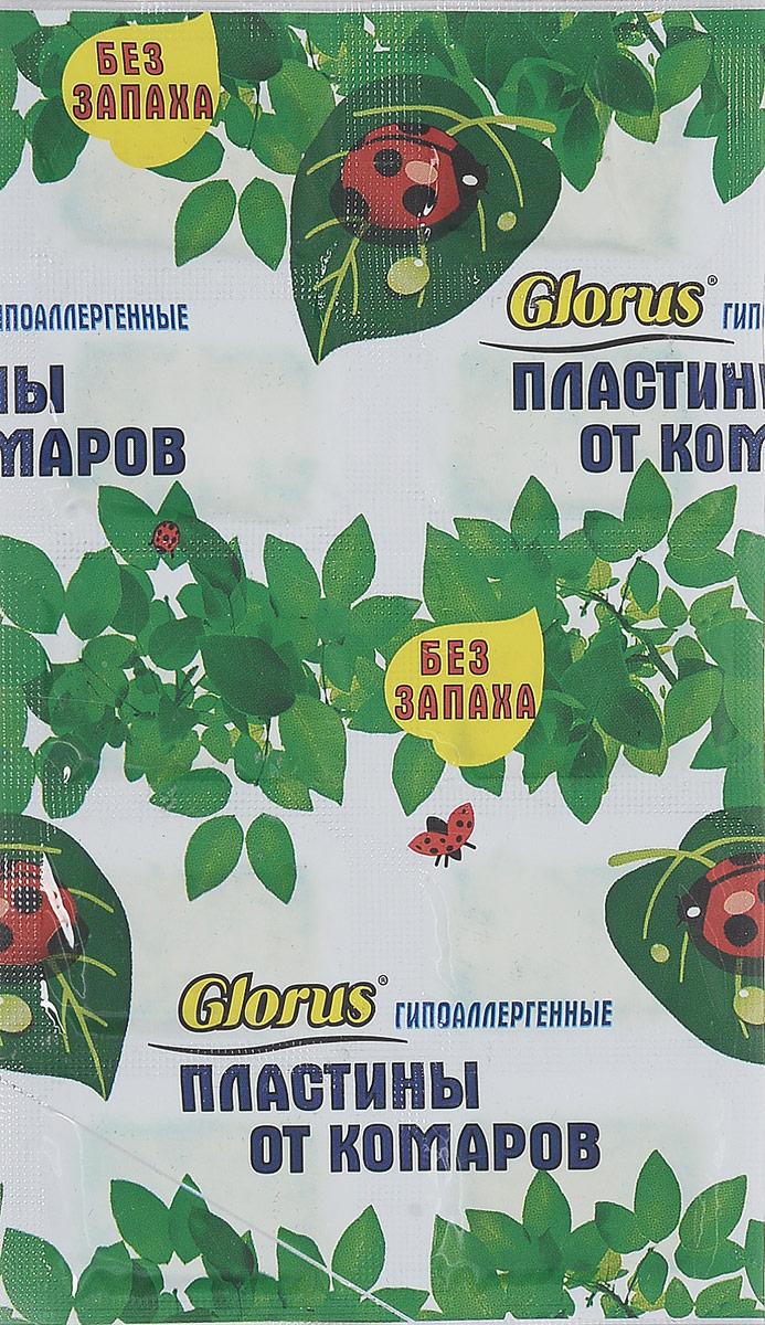 Пластины от комаров Argus, без запаха, 10 шт argus сз 010004
