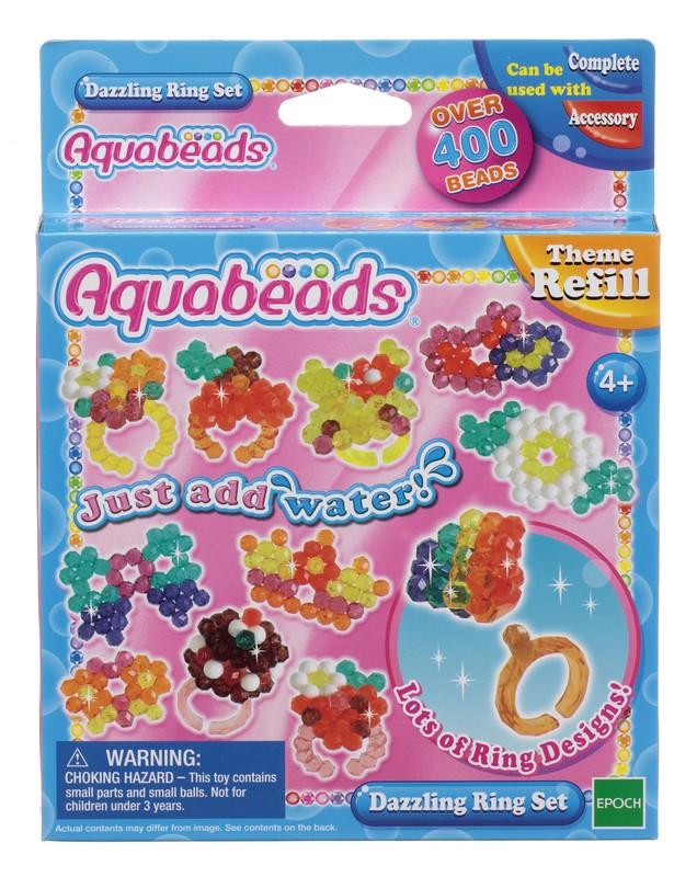 Aquabeads Набор бусин Ослепительные кольца