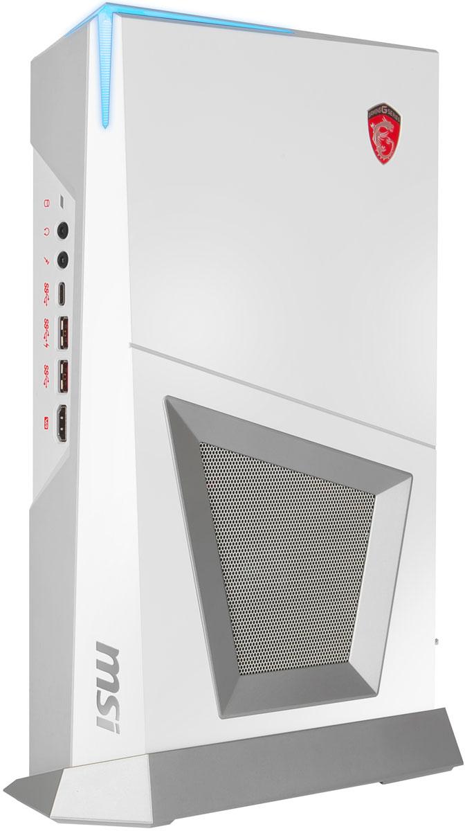 MSI Trident 3 Arctic VR7RD-208RU, White настольный компьютер9S6-B90612-208Хотите увидеть самый маленький игровой ПК в мире с производительностью большого десктопа? Встречайте MSI Trident 3. За свою историю MSI создала немало компактных игровых монстров, но на этот раз превзошли сами себя. MSI Trident 3 - это новый уровень компактных игровых десктопов, которому покорятся любые игры.Применение только самых современных технологий в продуктах MSI гарантирует плавный VR-геймплей. Сотрудничество с ведущими VR-брендами и уникальные VR-возможности MSI позволяют геймерам и VR-специалистам обрести яркий опыт и оживить фантазии в виртуальной реальности.Во время игры в новейшие тайтлы охлаждение становится наиболее критичным фактором игровой системы. Особая архитектура десктопа MSI Trident 3 гарантирует стабильную работу всех ключевых компонентов системы при длительных пиковых нагрузках.Ощути, как звук погружает тебя в игру. Благодаря аудиокомпонентам премиум-качества технология MSI Audio Boost обеспечивает наивысшее качество звука, с которым геймплей становится по-настоящему захватывающим.MSI снабдили десктоп Trident 3 портами, которых хватит для подключения всех имеющихся устройств. Подключи свой портативный накопитель, игровой монитор, игровую гарнитуру, клавиатуру и включайся в игру - мгновенно!Точные характеристики зависят от модификации.Компьютер сертифицирован EAC и имеет русифицированное Руководство пользователя.