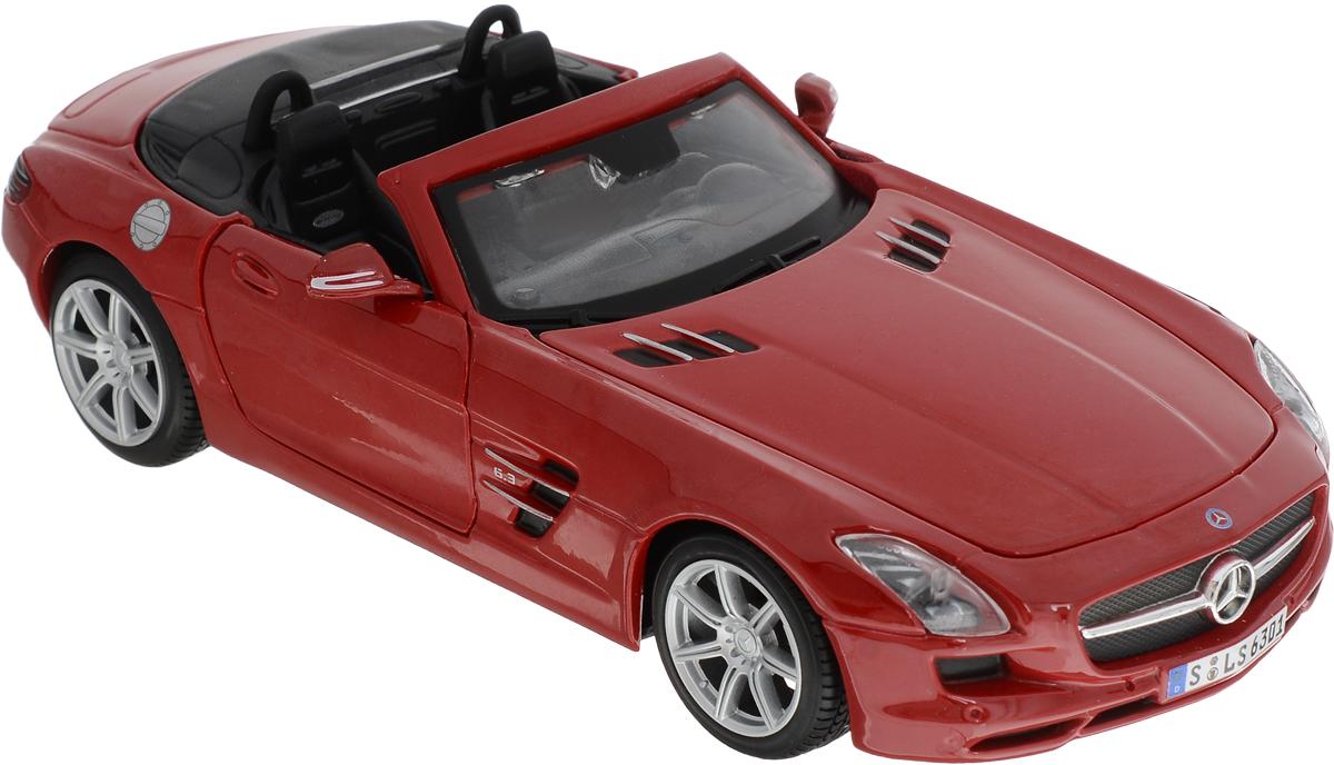 Maisto Модель автомобиля Mercedes-Benz SLS AMG Roadster цвет красный - Транспорт, машинки