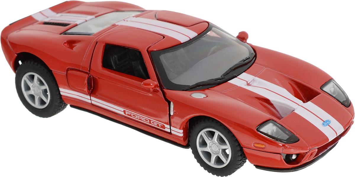 Kinsmart Модель автомобиля 2006 Ford GT цвет красный подкрылки ford transit 2006 2014 задний левый