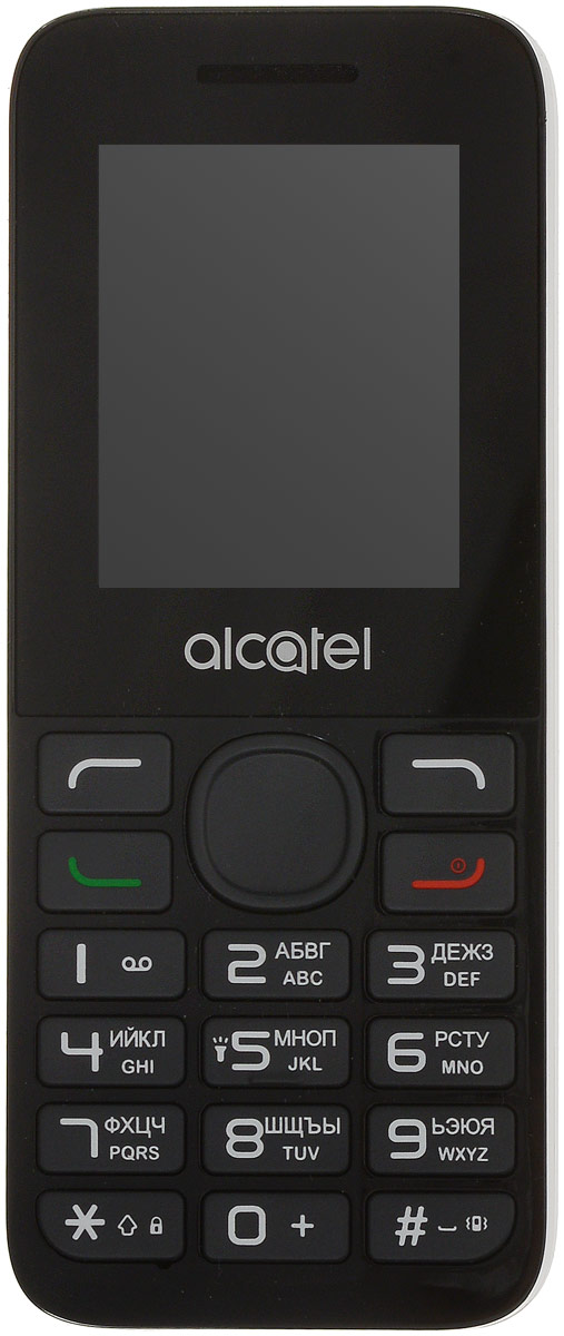 Alcatel 1054D, Pure White