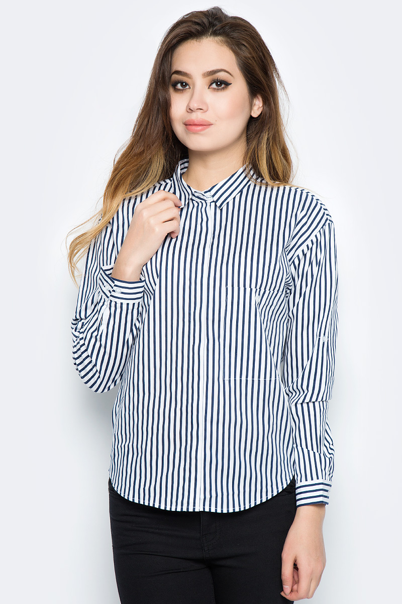 Рубашка женская Bello Belicci, цвет: белый. SA8_12. Размер XXL (50) рубашка женская bello belicci цвет белый sa9 12 размер xxl 50