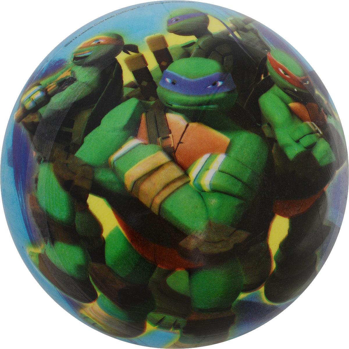 Unice Мяч детский Черепашки-ниндзя цвет синий 15 см