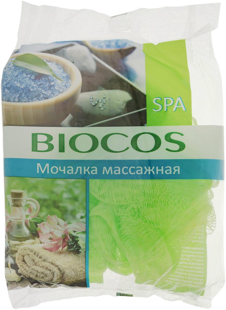 BioCos Мочалка массажная для тела Spa, цвет: салатовый14498_салатовыйМассажная мочалка для тела BioCos Spa идеально подходит для повышения тонуса и легкого пилинга вашей кожи. Регулярное использование мочалки улучшает кровообращение, повышает тонус кожи и способствует повышению ее эластичности. Мочалка превосходно пенится и может использоваться с любыми видами моющих средств для тела. Рекомендации по применению: перед первым применением мочалку рекомендуется промыть в воде. После использования ее необходимо тщательно прополоскать и просушить.