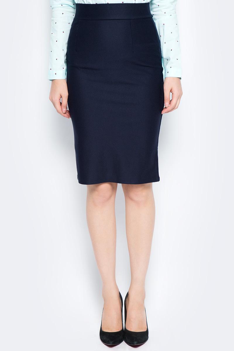 Юбка Bello Belicci, цвет: темно-синий. UA10_9. Размер M (44) рубашка женская bello belicci цвет белый sa9 12 размер xxl 50
