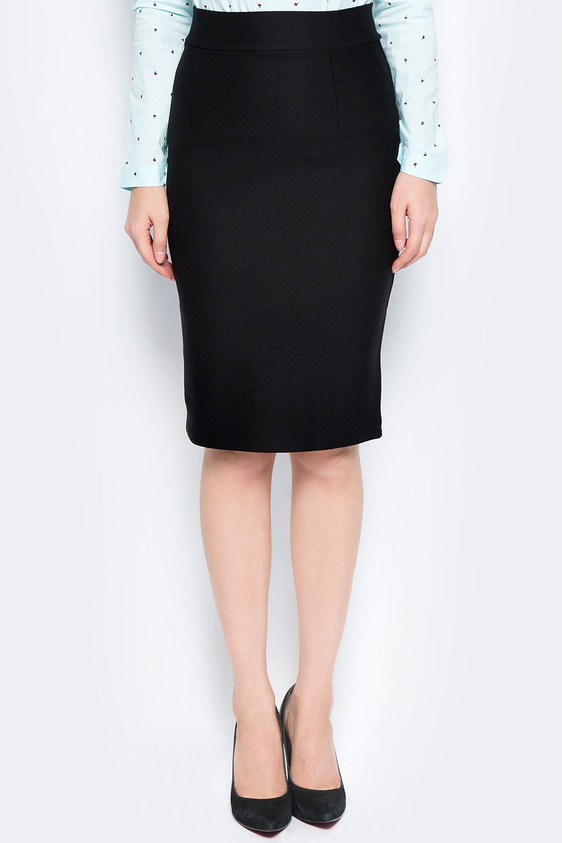 Юбка Bello Belicci, цвет: черный. UA10_7. Размер S (42) рубашка женская bello belicci цвет белый sa9 12 размер xxl 50