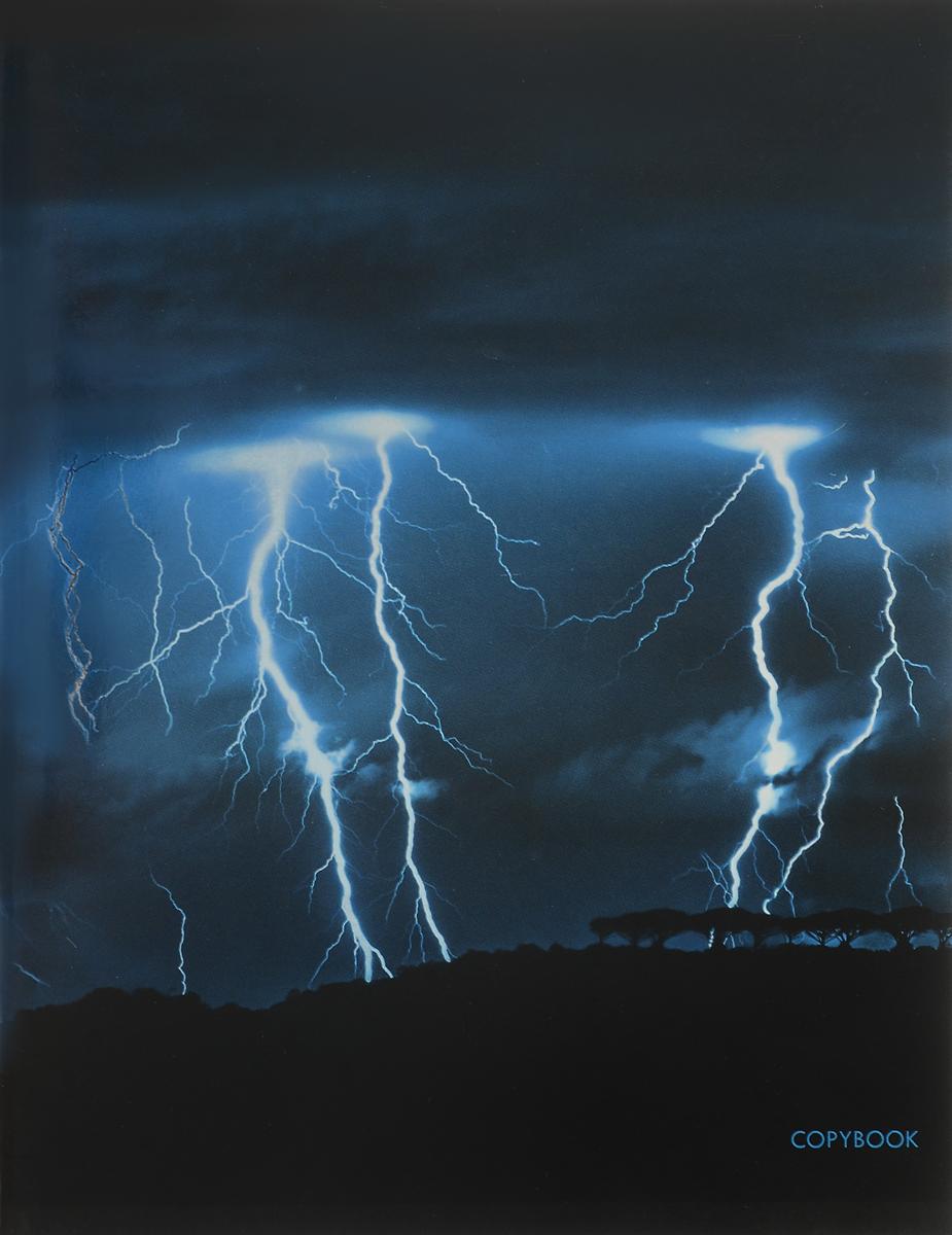 Канц-Эксмо Тетрадь Сила природы 96 листов в клетку цвет синийТГ965269_синийТетрадь для записей и конспектов Сила природы формат А5, 96 листов в клетку. Крепление - скрепка. Обложка: импортный мелованный картон, печать по металлизированной пленке Серебро, сплошной глянцевый лак. Внутренний блок: бумага офсетная 60г/м2.