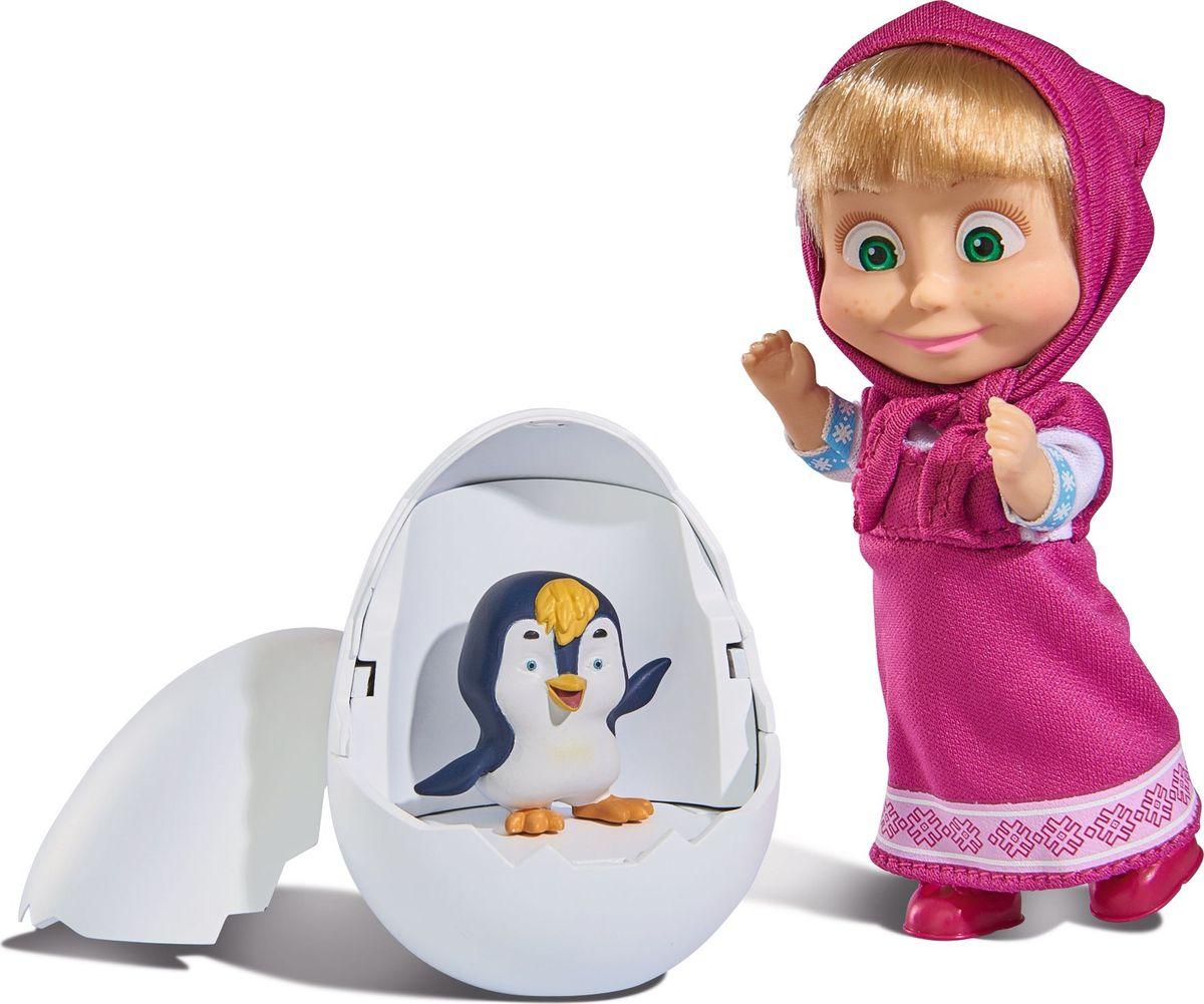 Simba Игровой набор Маша с пингвиненком в яйце simba микрофон на стойке