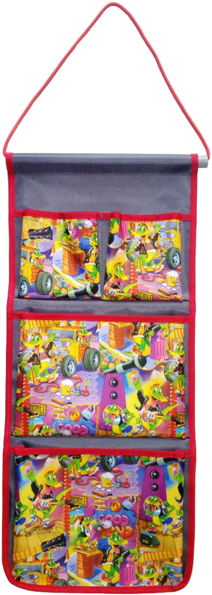 Кармашек в шкафчик для детского сада идеально подходит для хранения расчесок и заколок,  салфеток и платочков, футболок и сменной обуви.  Размер кармашка подходит для большинства моделей шкафчиков.
