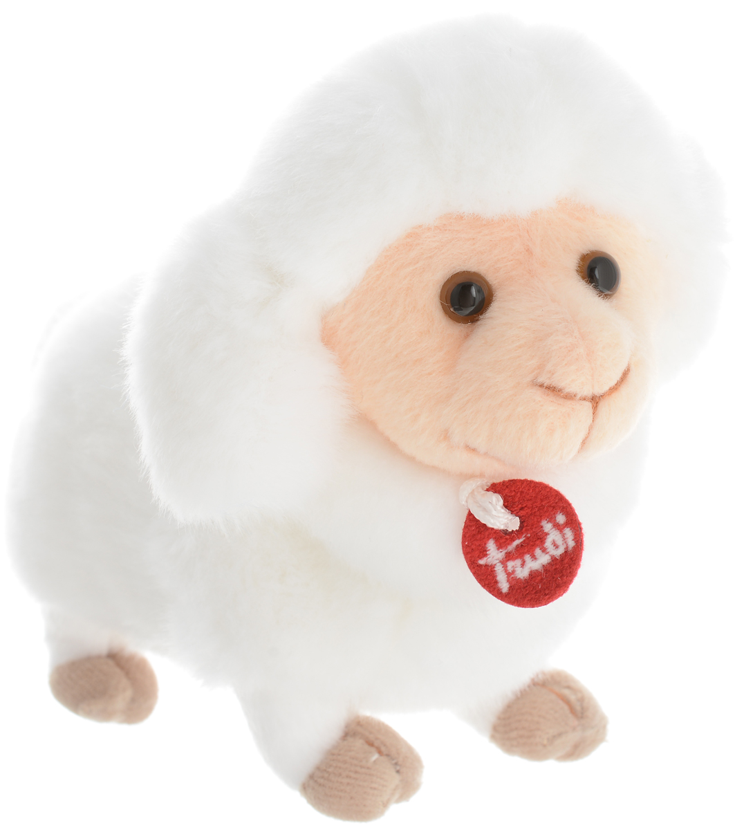 Trudi Мягкая игрушка Овечка делюкс 15 см trudi овечка