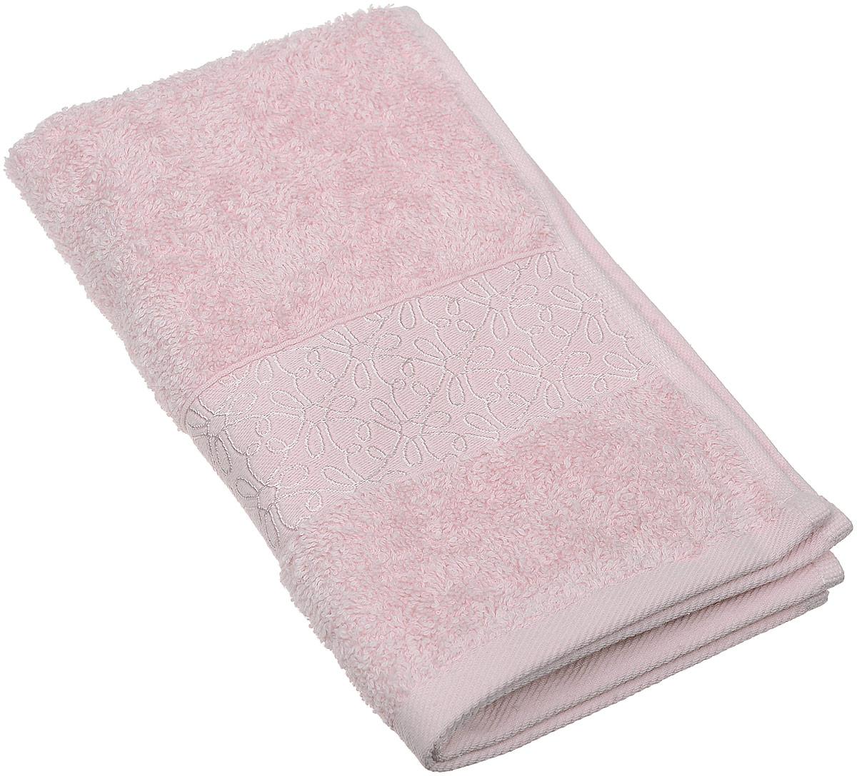 Полотенце махровое Issimo Home Perin, цвет: пудровый, 30 х 50 см полотенце бамбуковое issimo home valencia цвет розовый 90 x 150 см