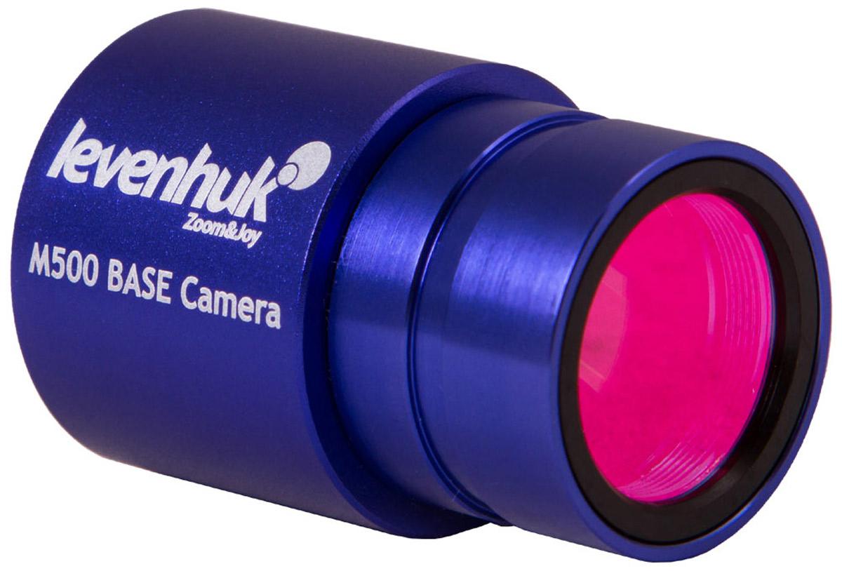 Levenhuk M500 Base камера цифровая для микроскопа70356Цифровая камера Levenhuk M500 BASE предназначена для биологических, стереоскопических и инструментальных микроскопов. Она позволяет передавать изображение с объектива микроскопа на экран компьютера или ноутбука, фотографировать микропрепараты и записывать видеоролики о проводимых исследованиях. Камера пригодится каждому любителю микробиологии.В основе камеры Levenhuk M500 BASE лежит 5-мегапиксельный чувствительный элемент, с помощью которого можно получать кадры разрешением до 2592x1944 пикселей. Для записи видео доступно четыре предустановленных режима, которые отличаются качеством изображения и кадровой частотой. Сохранить видео и фото можно в популярных цифровых форматах.Цифровая камера Levenhuk M500 BASE устанавливается в окулярную трубку микроскопа на место штатного окуляра. Посадочный диаметр - 23,2 мм. Для использования с микроскопами других стандартов необходимо приобрести адаптер (не входит в комплект поставки).В комплекте с камерой идет специальная редакционная программа, которая позволит при необходимости откорректировать цвета, кадрировать изображение и проч.Камера совместима с Mac OS, Linux, Windows, для подключения необходим порт USB 2.0.Если приложение не запускается на вашем компьютере, обратитесь к нам, указав операционную систему и ее версию (для Linux: платформу и версию ядра).Языковые пакеты программы Levenhuk:· Windows: русский, английский, немецкий, французский, польский, китайский, турецкий · Linux: английский · Mac: английскийЦифровая камера Levenhuk подходит к микроскопам с посадочным диаметром окулярной трубки 23,2 мм.Также камеру можно установить на окулярные трубки других диаметров при помощи переходников (в комплект не входят).Размер пикселя: 2,2х2,2 мкм Формат изображения: *.jpg, *.bmp, *.png, *.tif Спектральный диапазон: 380-650 нм (встроенный ИК-фильтр) Тип затвора: ERS (электронная моментальная фотография) Баланс белого: авто/ручной Контроль экспозиции: авто/ручной Программные воз