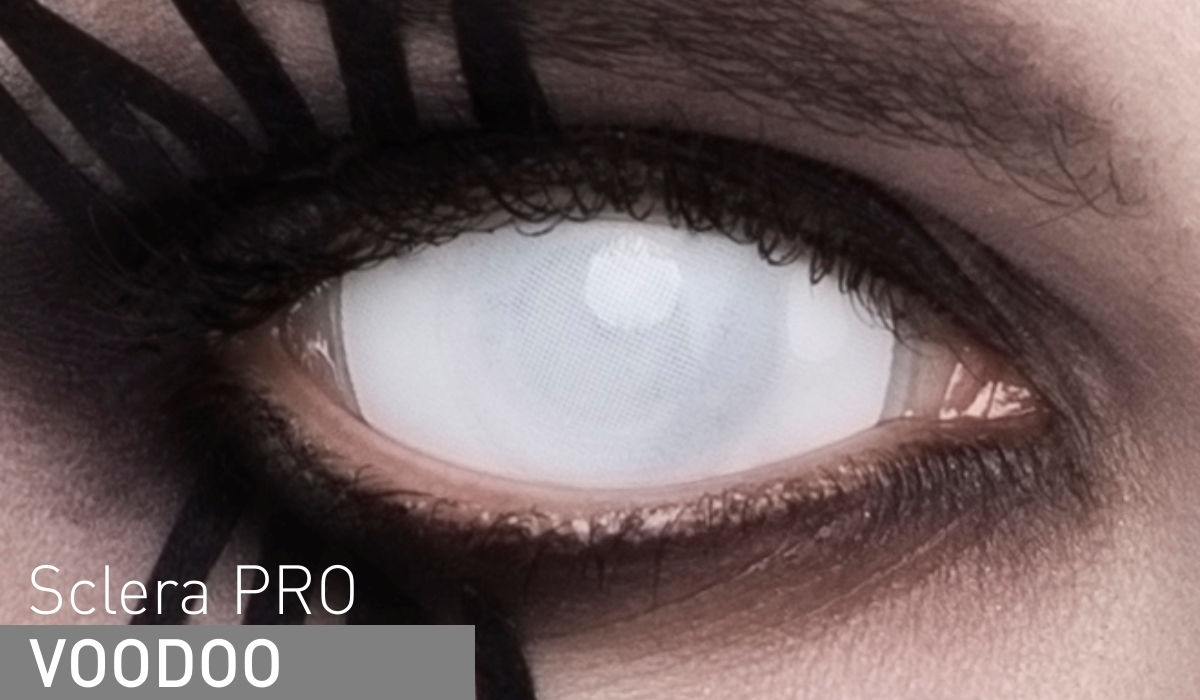 Adria Контактные линзы Sclera Pro / 1 шт / 0.0 / 8.6 / 22.0 / Voodoo00-00001891Линзы, которые покрывают весь глаз полностью - как радужку, так и белок. Если нужно произвести сногсшибательный эффект на вечеринке, сделать оригинальную фотосессию либо на время превратиться в персонажа фильма ужасов или фэнтези - склеры идеально справятся с этими задачами! За пару минут можно стать демоническим созданием или инопланетянином. А также скопировать образы Леди Гаги, Мэрилина Мэнсона, Die Antwoord и других музыкантов, славящихся тягой к экстремальным перевоплощениям.Линзы выполнены на основе гидрогелевого материала полимакон, прославившегося оптимальным содержанием влаги и способностью пропускать кислород и широко использующегося сегодня при создании оптических изделий. Благодаря своим характеристикам он обеспечивает комфортное и, что самое главное, абсолютно безопасное ношение на протяжении всего периода использования. Пользователи, успевшие заказать и оценить представленную продукцию, отмечают в своих многочисленных отзывах ее непревзойденное качество и комфорт. Не стоит забывать, что Adria Sclera-Pro не предусматривают коррекцию зрения и предназначены только для декоративного эффекта.Контактные линзы или очки: советы офтальмологов. Статья OZON Гид