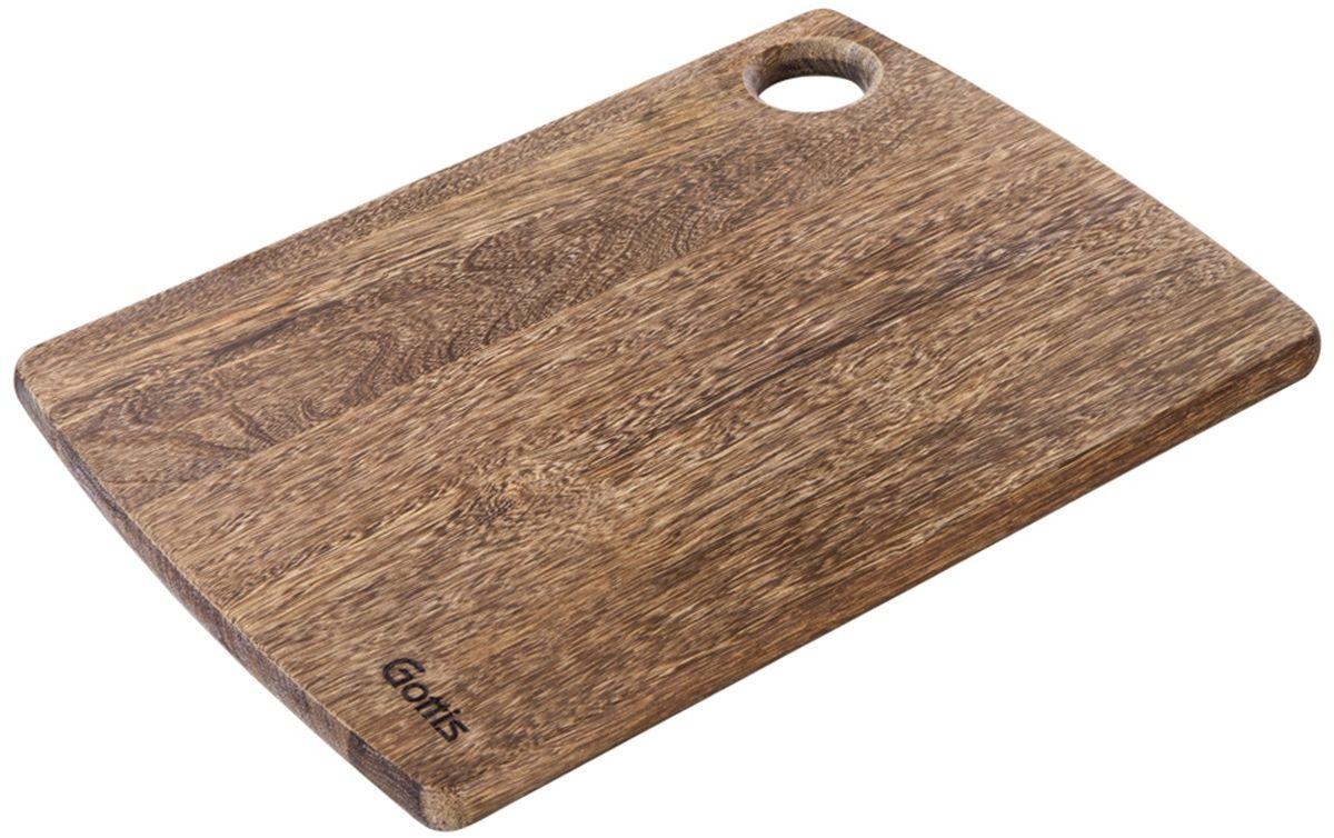 Доска разделочная Gottis. 7167515/40Разделочная доска Gottis изготовлена из массива ценного дерева панга-панга и создана для истинных ценителей кулинарного искусства. Современный дизайн, уникальная текстура, долговечность и экологичность позволят надолго сохранить остроту ваших ножей. Если вы готовите часто и с удовольствием, разделочная доска Gottis предназначена именно для вас! Используя разделочную доску Gottis, вы можете готовить как настоящий шеф-повар.