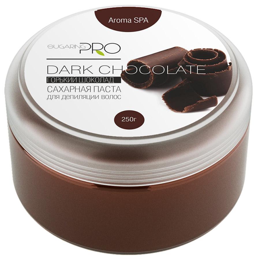 Сахарная паста SUGARING PRO Горький шоколад универсальная, 250 гУТ000008524Вдыхая аромат шоколада, который состоит из более сорока летучих соединений, можно укрепить иммунитет и улучшить настроение. Универсальная сахарная паста предназначена для депиляции всех типов волос (шугаринга) на любом участке кожи. При удалении волос не травмирует живые клетки кожи. Гипоаллергена. Не вызывает раздражения. Эффекта хватает на 3 – 4 недели. Инструкция по применению: Из центра банки щипком взять пасту размером с грецкий орех и провести процедуру депиляции. Основные ингредиенты: фруктоза, глюкоза, вода. Постэпиляционный уход: Избегайте использования душистых увлажняющих кремов на обработанных участка, дезодорантов первые 24 часа после процедуры. Дезодорант можно заменить на тальк. Избегайте длительного пребывания на солнце или солярии. Желательно отказаться от посещения сауны и бассейна первые 24 час.Примечание: Продукт хранить в прохладном и сухом месте. Только для наружного применения.Гарантия качества: Товар сертифицирован. Прошел дерматологический контроль.