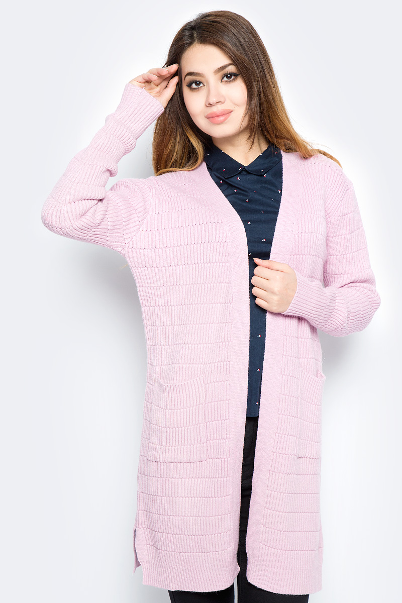 Кардиган женский Bello Belicci, цвет: розовый. КА11_6. Размер S/M (42/46) эротическое белье женское avanua celia цвет черный 03574 размер s m 42 44