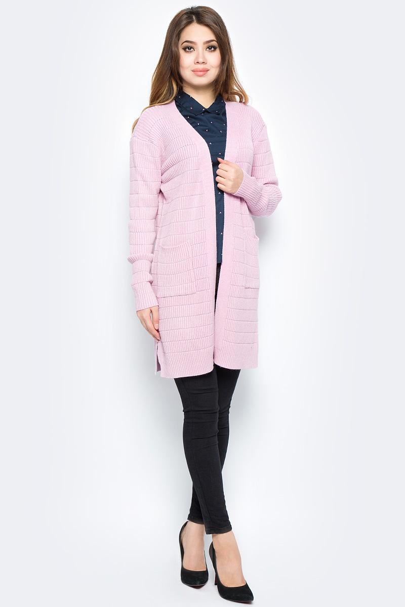 Кардиган женский Bello Belicci, цвет: розовый. КА11_6. Размер S/M (42/46)КА11_6