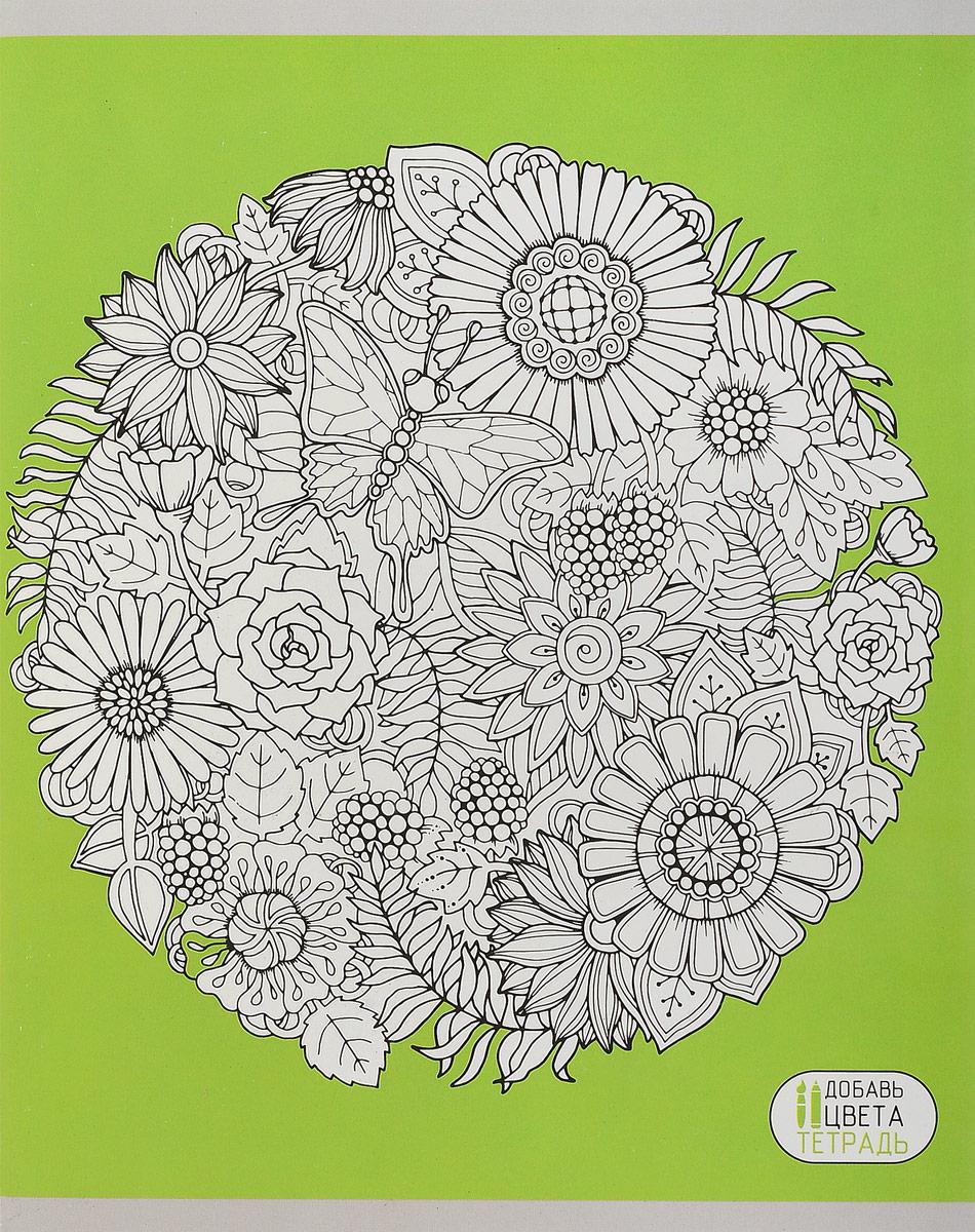 Канц-Эксмо Тетрадь Творческое настроение 96 листов в клетку цвет салатовый канц эксмо тетрадь гармония цвета 96 листов в клетку