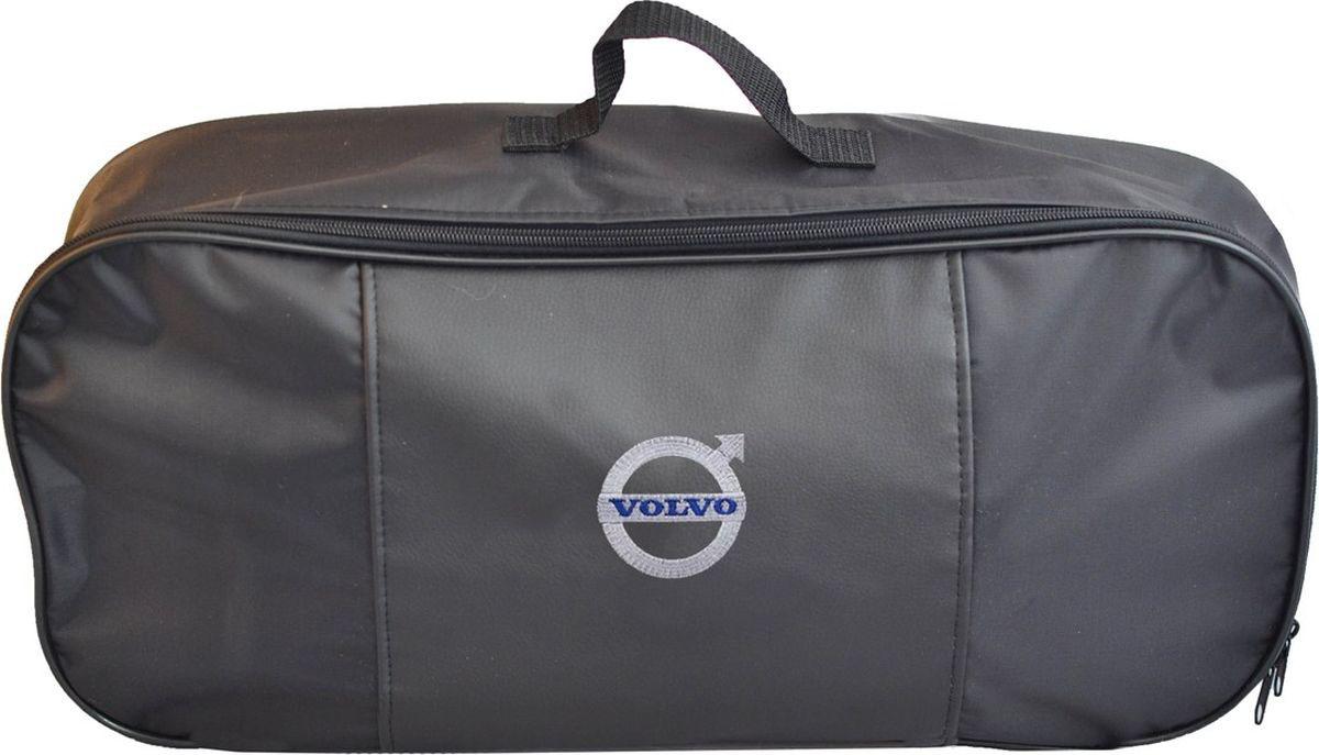 Автосумка Auto Premium Volvo, для аварийного набора, 47 х 21 х 13 см67325Автосумка Auto Premium Volvo выполнена из прочного и износоустойчивого материла (ПВХ 600) со вставкой из экокожи. Она идеально подходит для хранения аварийного набора, например, огнетушителя, знака аварийной остановки, буксировочного троса и много другого.