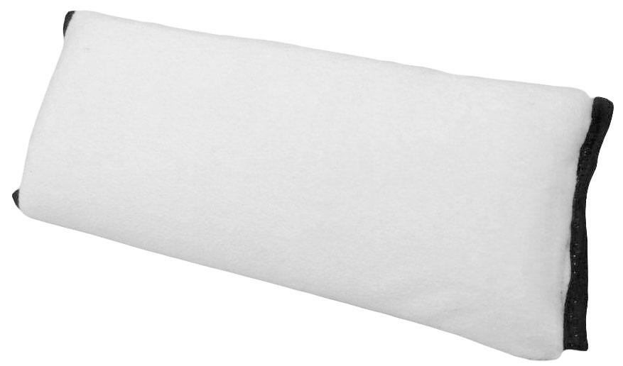 Накладка-подушка на ремень безопасности Auto Premium, цвет: серый, красный. 7715777157Подушка-накладка на ремень безопасности выполнена из мягкого велюра с легкой фиксацией на липучке. Прекрасно подходит не только для длительных перездов, а также будет незаменима для комфортного сна.