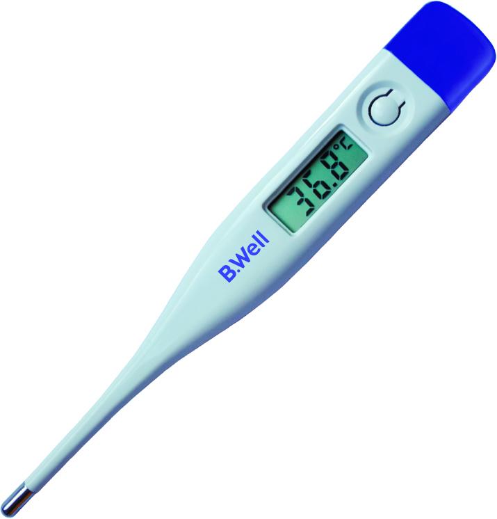 B.Well Термометр WT-05 accuracyWT-05Электронный термометр B.Well WT-05 accuracy – электронный термометр с лаконичным дизайном по самой привлекательной цене. Он имеет все необходимые функции, включая звуковые сигналы, память последнего измерения и автоматическое отключение. Термометр B.Well WT-05 безопасно и точно измерит температуру у Вас и Ваших близких.