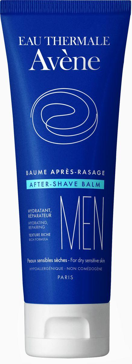 Avene Men Бальзам после бритья, 75 мл - Мужские средства для бритья и уход за бородой