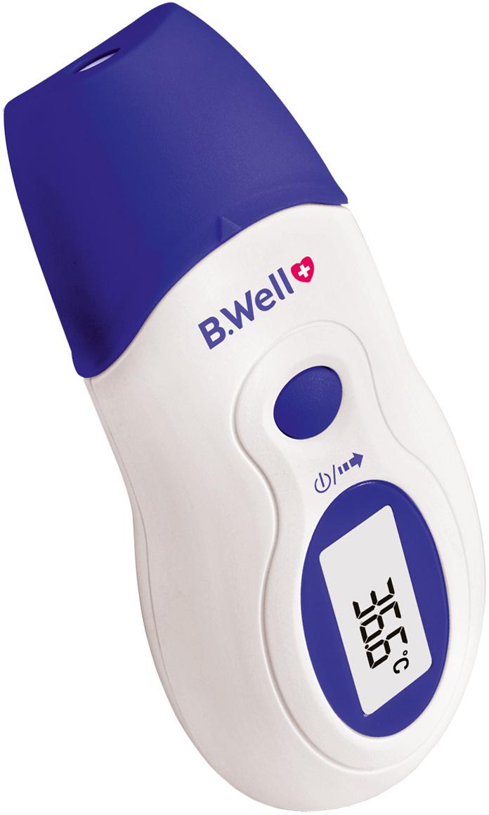 B.Well Термометр инфракрасный WF-1000WF-1000Инфракрасный термометр WF-1000 обеспечит максимально быстрое и комфортное измерение. Скорость измерения температуры составляет всего 2-3 секунды. Уникальная конструкция термометра WF-1000 позволяет измерять температуру как в ушной раковине, так и на лбу, благодаря специальному датчику. Перевести термометр из одного режима в другой очень просто: если специальная насадка надета на датчик, термометр автоматически настроен на измерение в лобной области, если насадка снята – термометр готов к измерению температуры в ушной раковине.Термометр B.Well WF-1000 идеально подойдет для маленьких детей. Таким термометром Вы сможете быстро измерить температуру, не потревожив ребенка даже во время сна. Позволяет измерять температуру воздуха, предметов, жидкости (без погружения прибора в жидкость). Эта возможность будет полезна для молодых родителей, которым так часто необходимо контролировать температуру в детской, молока в бутылочке и многих других вещей.