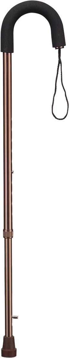 B.Well Трость с встроенным противогололедным устройством WR-413WR-413Опорная трость WR-413 с выдвижным устройством против скольжения сохранит устойчивость даже зимой. Форма рукоятки Клюка будет удобна для пожилых пациентов: трость удобно держать или опереться на нее двумя руками. Рукоятка выполнена из мягкого полиуретана и снабжена страховочным ремешком. Корпус трости из авиационного алюминия обеспечит и прочность, и легкость. Все трости B.Well являются телескопическими и регулируются по высоте. В зависимости от погодных условий можно использовать противогололедный наконечник или спрятать его в корпусе трости.