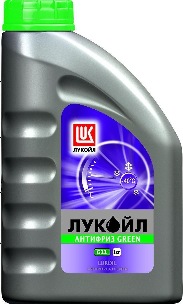 Антифриз ЛУКОЙЛ G11 Green, 1 кг 227387