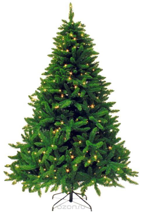 """Искусственная ель Royal Christmas """"Washington Premium"""" - прекрасный вариант для оформления вашего интерьера к Новому году. Такие деревья абсолютно безопасны, удобны в сборке и не занимают много места при хранении. Ель состоит из трех составных частей и устойчивой подставки. Ель быстро и легко устанавливается и имеет естественный и абсолютно натуральный вид, отличающийся от своих прототипов разве что совершенством форм и мягкостью иголок.   Еловые иголочки не осыпаются, не мнутся и не выцветают со временем. Полимерные материалы, из которых они изготовлены, нетоксичны и не поддаются горению.  Ель Royal Christmas """"Washington Premium"""" обязательно создаст настроение волшебства и уюта, а также станет прекрасным украшением дома на период новогодних праздников. Размер подставки: 51 х 51 см."""