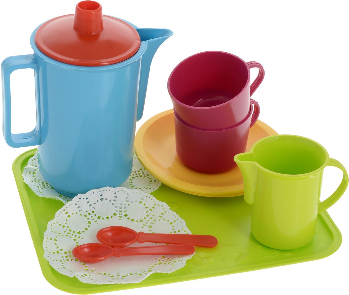 РосИгрушка Игрушечный чайный набор Молочные реки игрушечная посуда veld co игрушечная посуда
