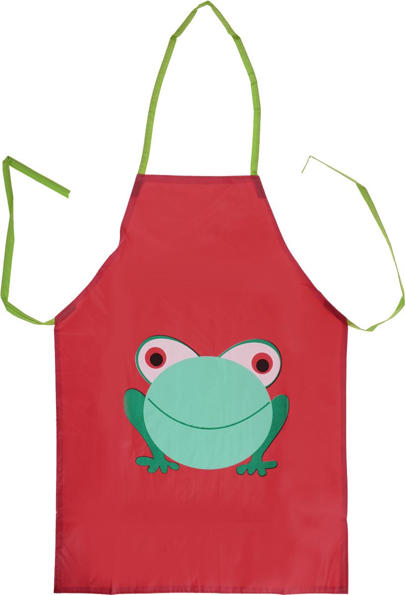 Школа талантов Фартук детский Лягушонок цвет красный460179