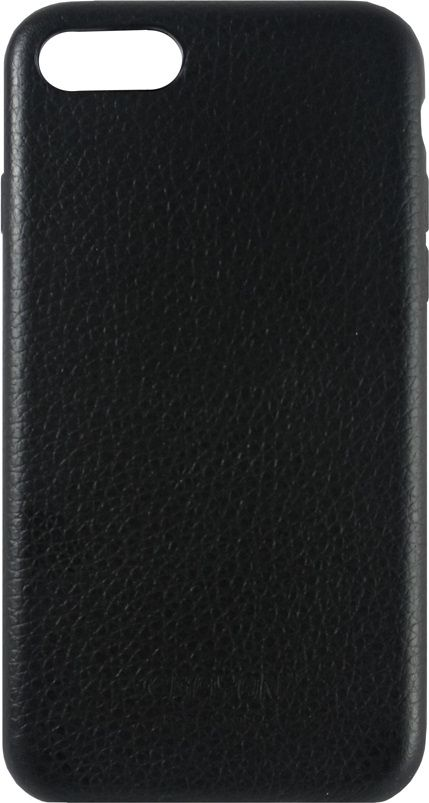 Crayon Generic Slim Case, Black чехол для iPhone 6/6SCRN-GSCLIP6-blЧехол изготовлен из термопластичного полиуретана (ТПУ) - материала, который не подвержен замерзанию и резким перепадам температур. То есть телефон в чехле из ТПУ не тормозит на морозе. ТПУ не подвержен деформации, устойчив к разрыву и не проводит электрический ток. Чехол из ТПУ не притягивает пыль, устойчив к царапинам и другим механическим повреждениям, обладает противоударными свойствами. Чехол не утолщает устройство, обеспечивая легкий доступ ко всем функциональным клавишам телефона. Внешняя поверхность чехла выполнена из натуральной кожи. Необычно, стильно, надежно.