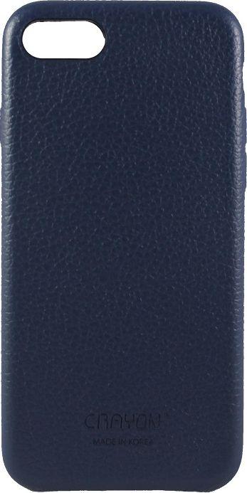 Crayon Generic Slim Case, Blue чехол для iPhone 7CRN-GSCLIP7-blueЧехол изготовлен из термопластичного полиуретана (ТПУ) - материала, который не подвержен замерзанию и резким перепадам температур. То есть телефон в чехле из ТПУ не тормозит на морозе. ТПУ не подвержен деформации, устойчив к разрыву и не проводит электрический ток. Чехол из ТПУ не притягивает пыль, устойчив к царапинам и другим механическим повреждениям, обладает противоударными свойствами. Чехол не утолщает устройство, обеспечивая легкий доступ ко всем функциональным клавишам телефона. Внешняя поверхность чехла выполнена из натуральной кожи. Необычно, стильно, надежно.
